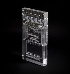 MicroFluidic Medical Manifold