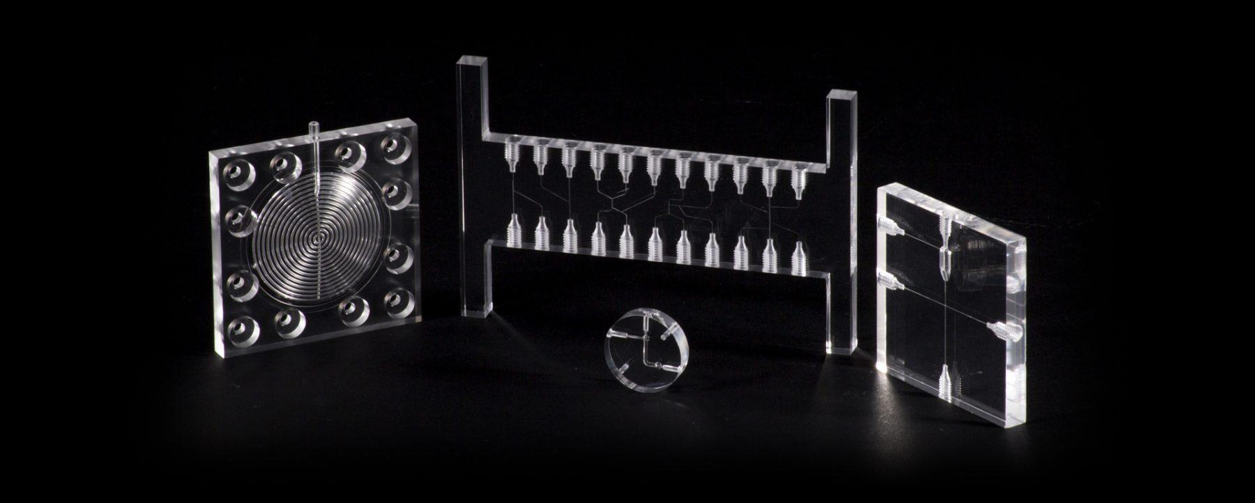 micro fluidic manifolds and micro fluidic manifold chips