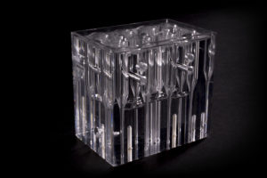 Diffusion Bonded Microfluidic Device
