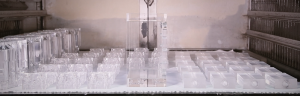 Heat treatment of plastics