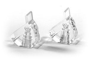 Acryl und Polycarbonat können mit Dampfpolitur zu einer glasähnlichen Oberfläche poliert werden.